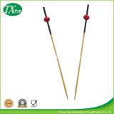 使い捨て可能なタケ花の棒か焼串