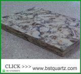 화강암 보다는 더 튼튼한 Prefabricated 석영 돌 싱크대