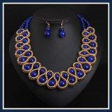 新しい項目ガラス玉の方法ネックレスの宝石類セット