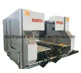 Online bodem GSZX die hoge snelheid vouwen die machine met de automatische die-cutting machine van de flexodruk en auto het bundelen machine lijmen