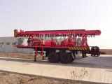 450mの鋭い深さトレーラーによって取付けられるSIN450Tの井戸の掘削装置