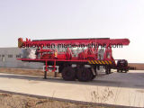 equipamento drilling montado de poço de água da profundidade reboque drilling SIN450T de 450m