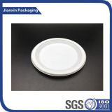 Recipiente de alimento plástico descartável da placa