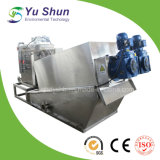 Machine de asséchage de cambouis pour le traitement des eaux résiduaires de Petro-Raffinage