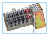 Un contatore antimagnetico di 6 Digitahi delle cifre, contatore elettromagnetico
