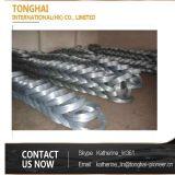 Fio galvanizado do ferro do aço de baixo carbono de Pirce eletro barato