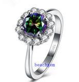 Heet verkoop de Ringen van het Messing van het Zirkoon van de Mysticus van Juwelen (R0850)