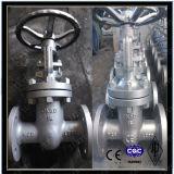 Válvula de compuerta DIN Wcb / GS-C25 / GP240GH de husillo