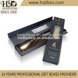 Haar Extension Paper Packing Box mit Clear Window