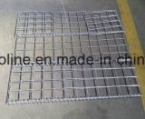 鋼鉄によって電流を通される網の壁Gabion
