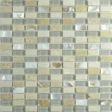 Mosaico del vidrio cristalino del azulejo de mosaico