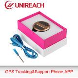 Perseguidor pessoal impermeável do GPS com cartão de SIM (MT80)