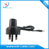 Il Regno Unito 3pin Plug Power Supply 6V 800mA AC/DC Power Adapter con Ce & RoHS