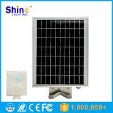 Luz de calle solar integrada 8W toda en una