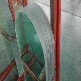 glace Tempered claire irrégulière de 6mm pour les meubles et la construction