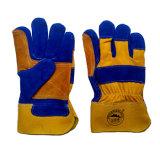 Ладонь подкрепления отрезала упорные защитные перчатки работы Riggers для работы
