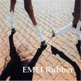 Ladrillo reciclado del caucho del camino del caballo