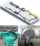 機械を作る牛肥料の有機肥料
