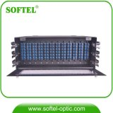4u 144c Modue Type ODF 144 Core com 12 12-Core Splicing Modules