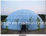 La bóveda vendedora caliente integra el invernadero