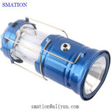 Lumières campantes de lampe de torche arrêtant la lanterne rechargeable à piles de DEL