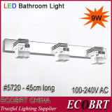 Luz cristalina del espejo del cuarto de baño LED de Guzhen Ecobrt-9W -5720