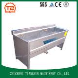 Producto alimenticio de bocado y alimentos de preparación rápida que hacen la máquina y que fríen la máquina
