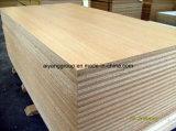 tablero de madera aglomerada de la melamina de 15mm/25m m/tarjeta de partícula/conglomerado impermeables con el carburador