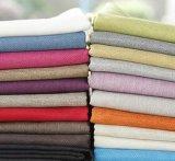 2017 telas de lino de la venta caliente para la materia textil de la ropa