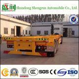 40feet 3 Aanhangwagen van de Container van de Lading van het Skelet van het Frame van de As de Semi