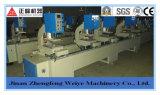 Doubles machines de soudure sans joint de guichet de PVC de tête, machine de soudure de guichet d'UPVC