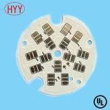 PWB de alumínio da placa de circuito impresso com certificação de RoHS do Ce do UL (HYY-059)