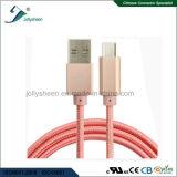 USB CharingおよびMatelヘッドおよびピンクのブレードが付いている伝達データケーブル