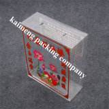 China Supply Food Grade Pet Plastic Gift Folding Box Printing