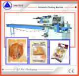 Máquina del embalaje automático de la galleta de la torta del pan