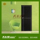 Porte stratifiée intérieure respectueuse de l'environnement de WPC (KM-01)