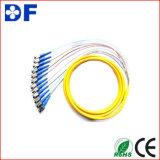 FC LC Koord van het Flard van de Vezel van de Verbindingsdraad E2000 van Sc St het Optische