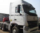 SinoトラックHOWO A7 420HPのトラクターのトラック6X4のトレーラーヘッドトラックの価格