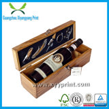 Изготовленный на заказ коробки стекла вина высокого качества упаковывая с логосом