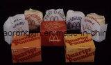 Einzelnes seitliches PET überzogenes Papier für das Mcdonald-Hamburger-Verpacken