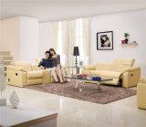 Mobília de couro do sofá de Italy do lazer (705)