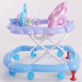 Le marcheur pliable de bébé d'usine avec des freins plus sûrs pour des gosses vendent en gros
