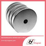 De super Macht Aangepaste Magneet van de Cilinder van het Neodymium van de Schijf N35-52 met ISO9001 Ts16949