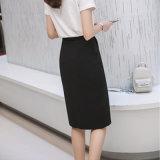 サイズ3カラー毛織のパッケージのヒップと女性の冬のスカートは女性のための伸縮性のスカートのまわりを回る