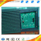Módulo de pantalla LED de color verde único impermeable P10