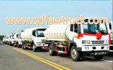 최신 판매! 트럭이 10 cbm 연료 탱크 트럭에 의하여 FAW 급유한다