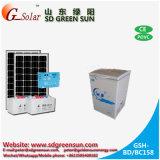 De zonne Diepvriezer van gelijkstroom 158L voor het Gebruik van het Huis