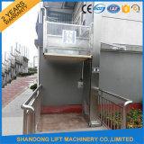 Mini ascenseurs hydrauliques de maison/ascenseur de fauteuil roulant extérieur à la maison