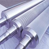 Fabrication et laminage de rouleaux ondulés en carbure de tungstène