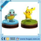 Nuovo Figurine giapponese Pikachu di Pokemon della resina 2016 e tartaruga